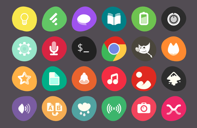 The Uniform Icon theme