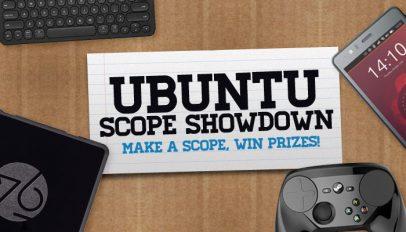 Ubuntu Scopes Showdown Logo