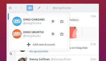 linux twitter app core bird running on Ubuntu