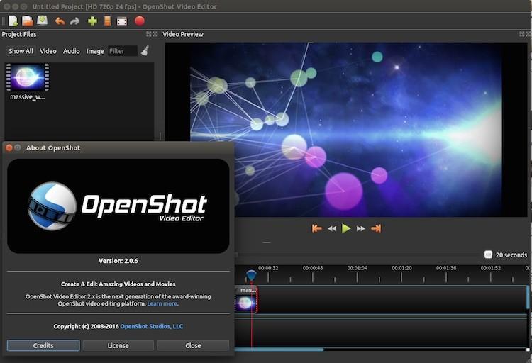 openshot 2.0 on ubuntu