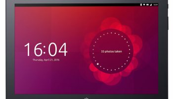 M10 Ubuntu Tablet front