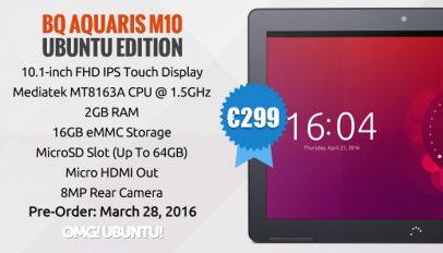 Ubuntu M10 Ubuntu Tablet FHD Model