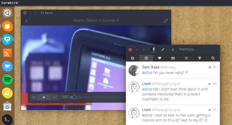 font change on ubuntu