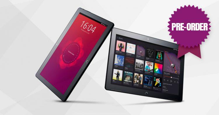 ubuntu m10 tablet preorder