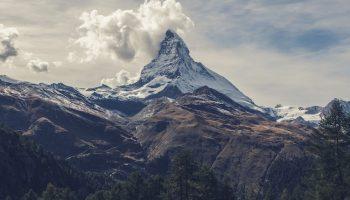 mountainous view wallpaper