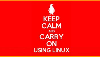 keep calm use linux poster