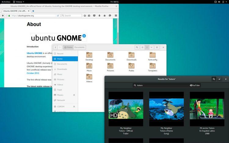 Ubuntu GNOME 16.04 Desktop