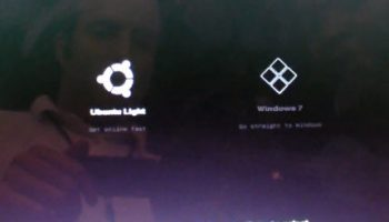 Ubuntu Light Boot screen