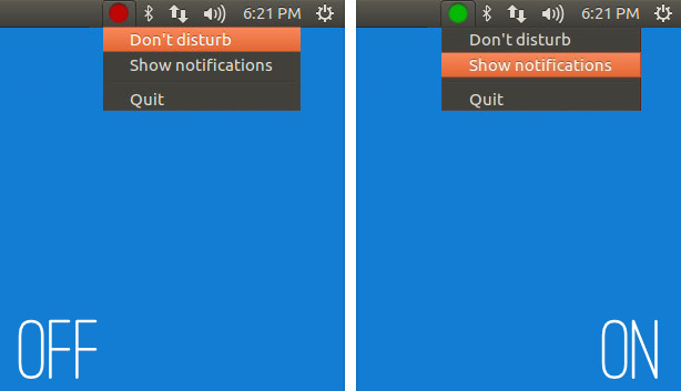 indicator applet to disable notifications