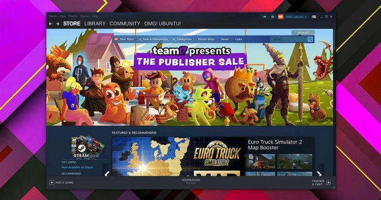 Steam Linux app on Ubuntu