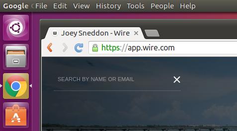 wire web app