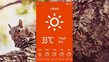 cumulus weather app
