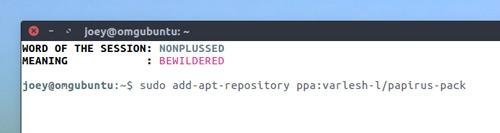 adding papirus ppa