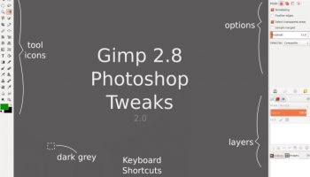 GIMPshop tweaks