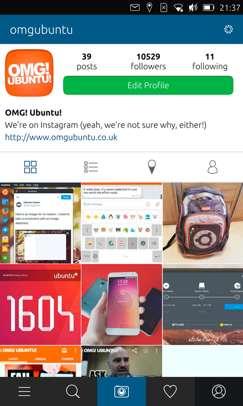 instagraph-profile