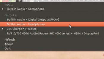 sound switcher applet for ubuntu