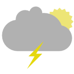 simple weather indicator icon