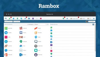 Rambox messaging app