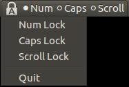 indicator keyboard led