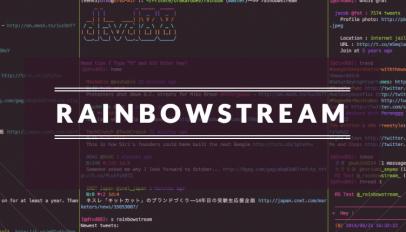 rainbow stream logo