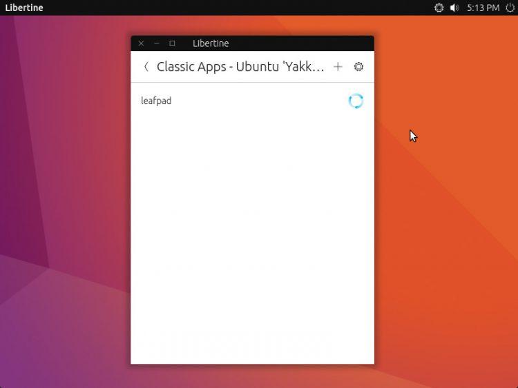 libertine-how-to-xorg-app-installing