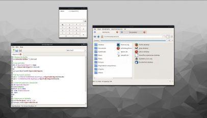 Lumina desktop environment