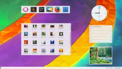 plasma 5.8 desktop screenshot
