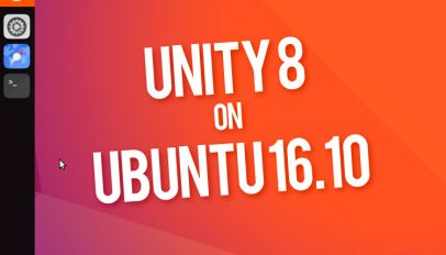 unity 8 hands on