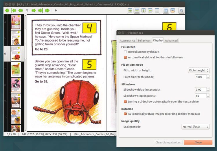 mcomix-preferences-on-ubuntu-desktop-comic-reader-app