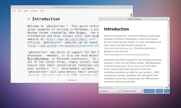 ghostwriter-markdown-editor-linux-screenshot