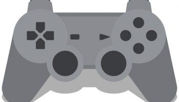 flat playstation gamepad