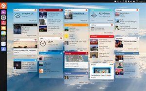 unity 8 desktop mockups