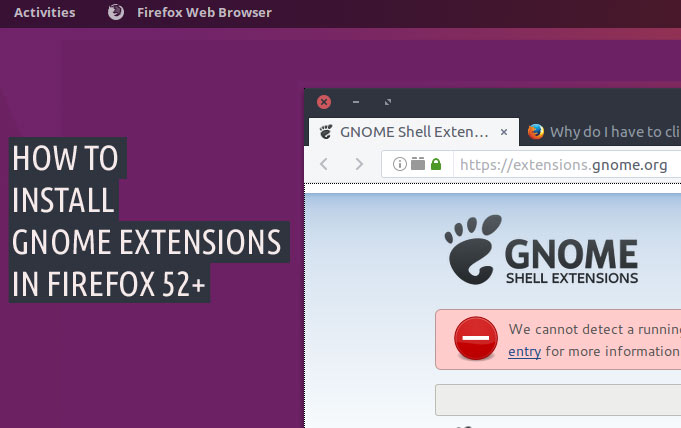 How to Install GNOME Shell Extensions with Firefox & Chrome - OMG! Ubuntu!