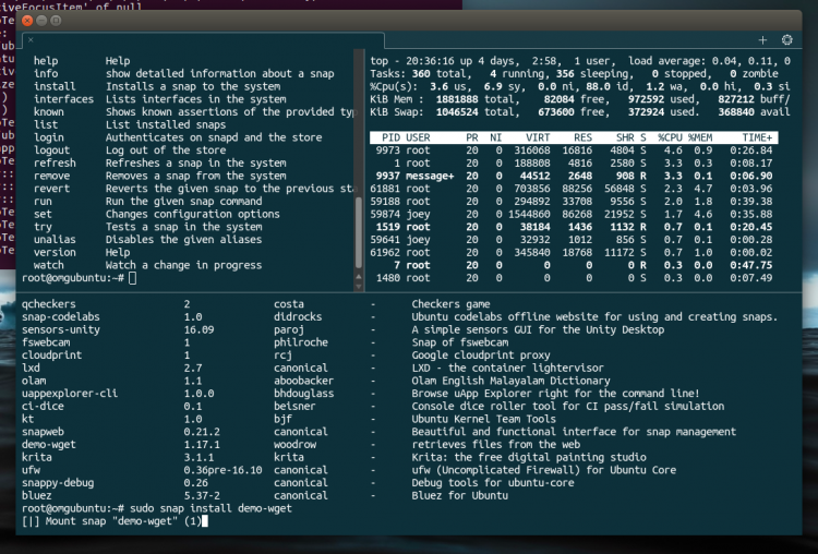 ubuntu converged terminal app