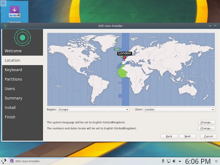 KDE Neon Has Stylish New Install Wizard - OMG! Ubuntu!