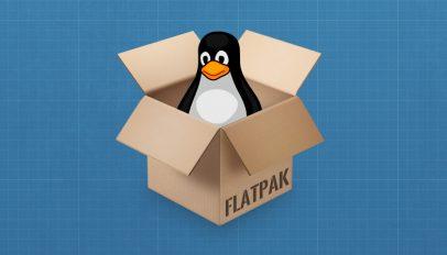 flatpak tux in a box
