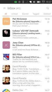 Dekko on Ubuntu Phone