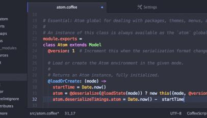 atom text editor screenshot