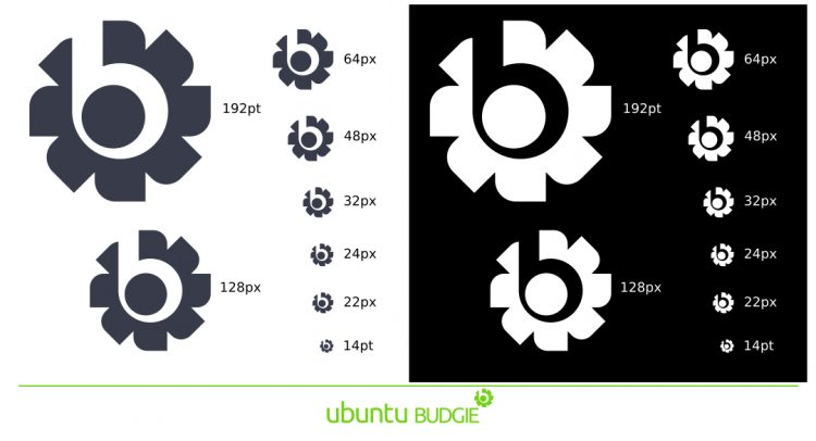 ubuntu budgie logo alternative B