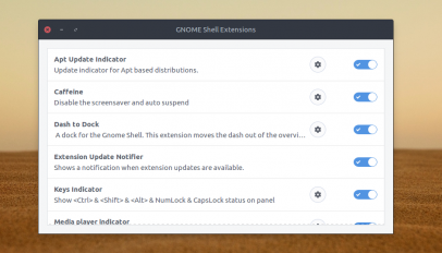 gnome extensions preferences