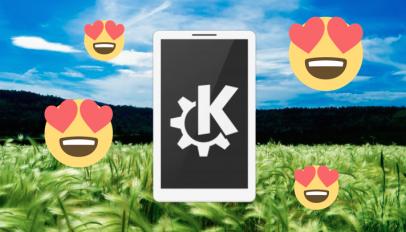 KDE connect love eyes