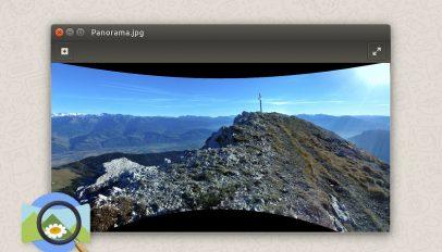 photosphere image viewer ubuntu