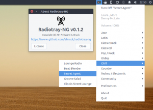 Radiotray-NG on Ubuntu 16.04 LTS