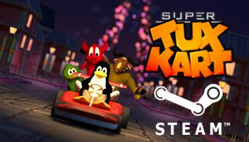 supertuxkart on steam logo