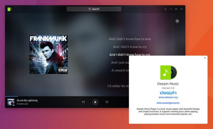 deepin music 3.0