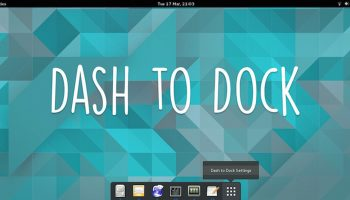gnome dash to dock facebook image