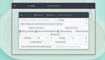 green recorder 2.0 screenshot