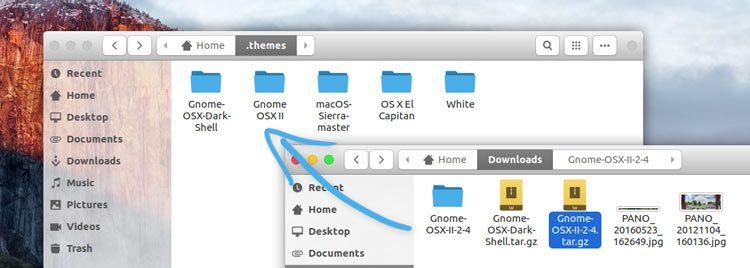 installing gtk themes in ubuntu