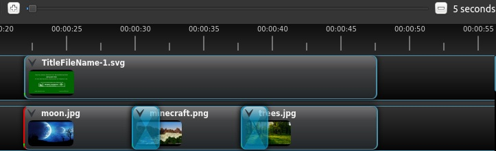 openshot timeline zooming