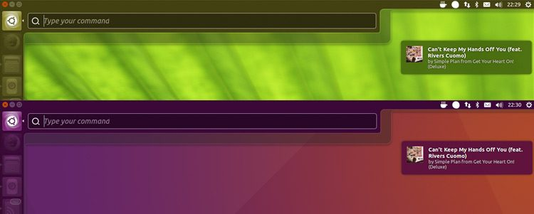 ubuntu unity color matching